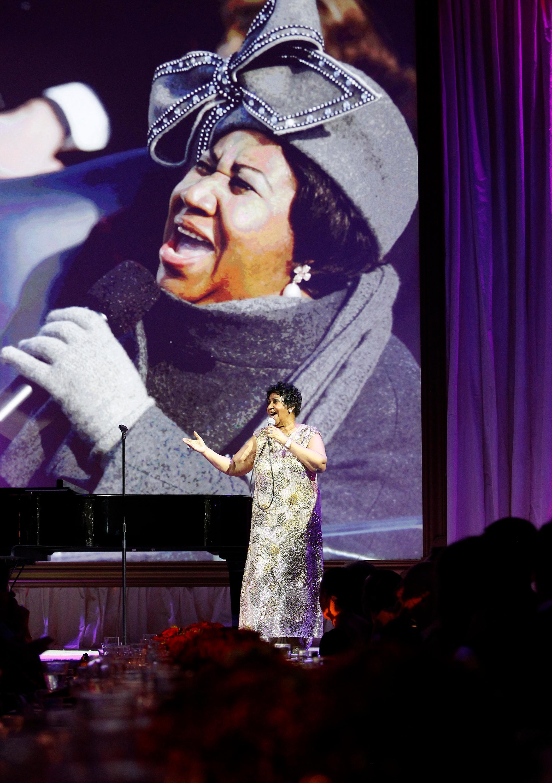 Aretha Franklin, 2015