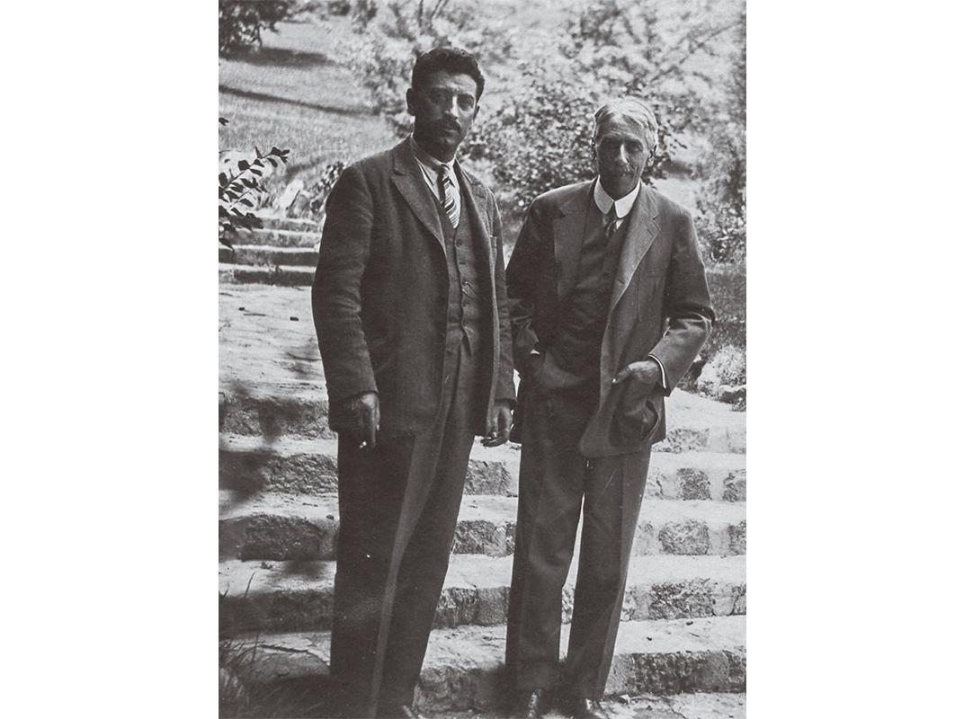Doda and Nopsca in 1931