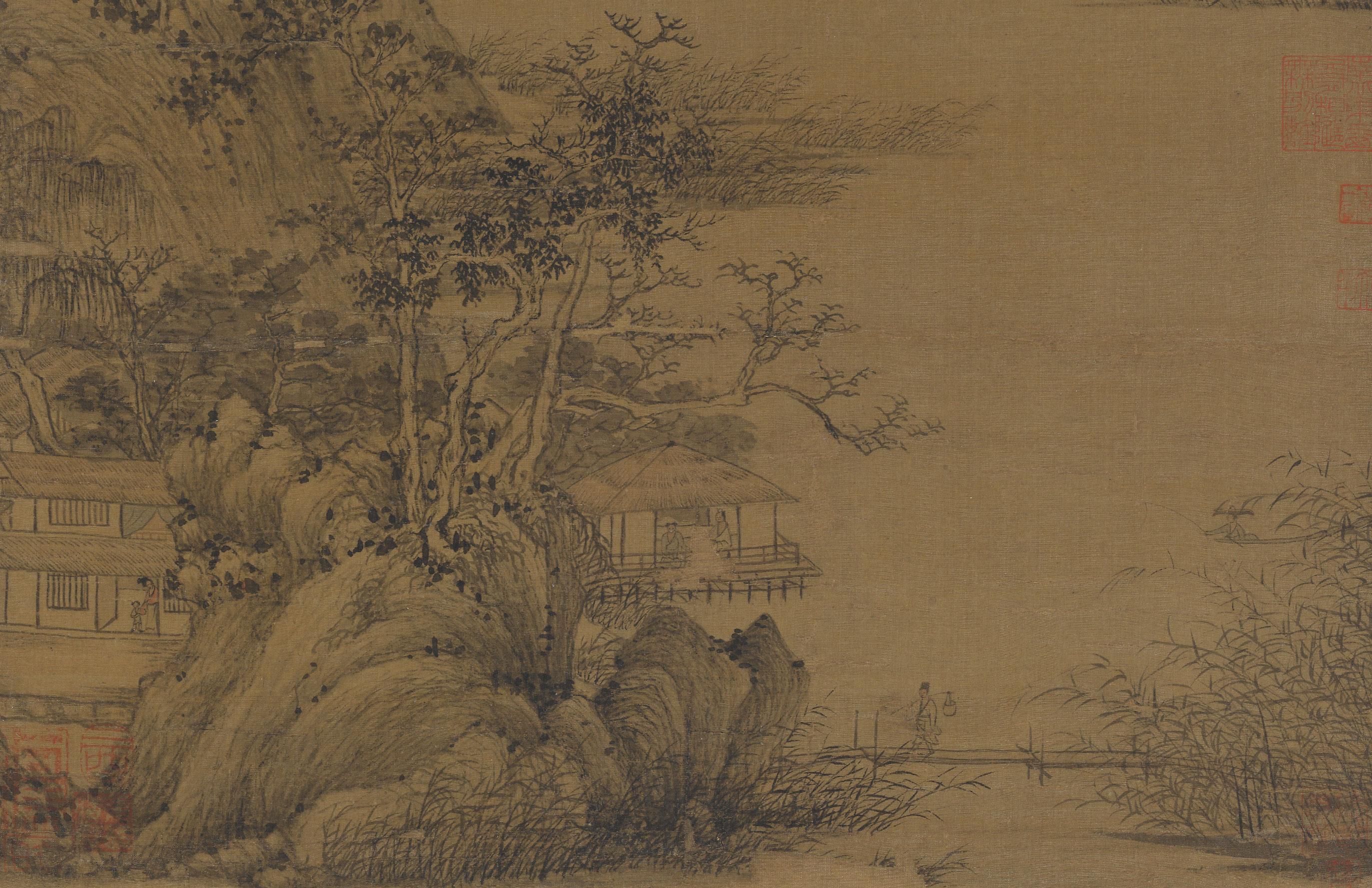 Detail, Wang Meng