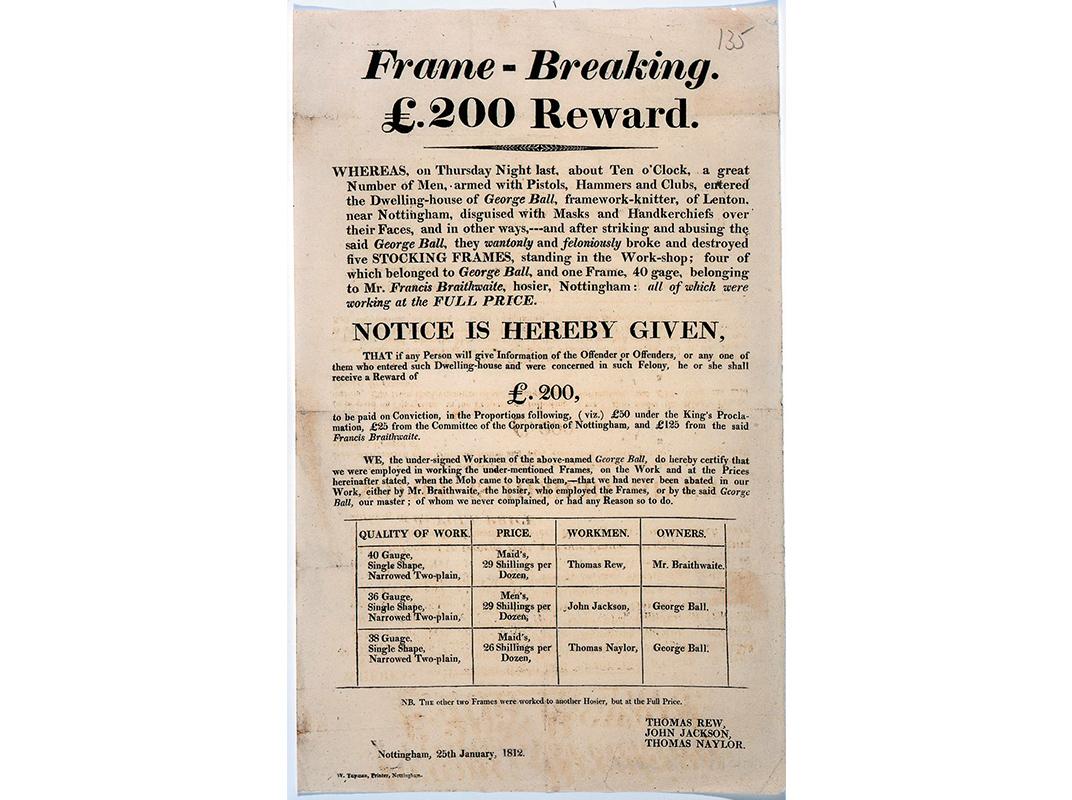 1812 handbill