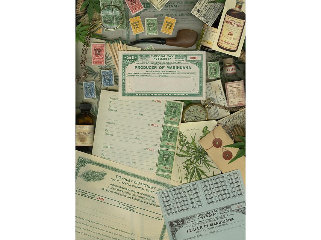 Marijuana Revenue Stamps