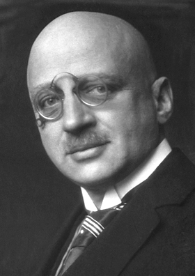 Fritz Haber, chemist and Nobel laureate.