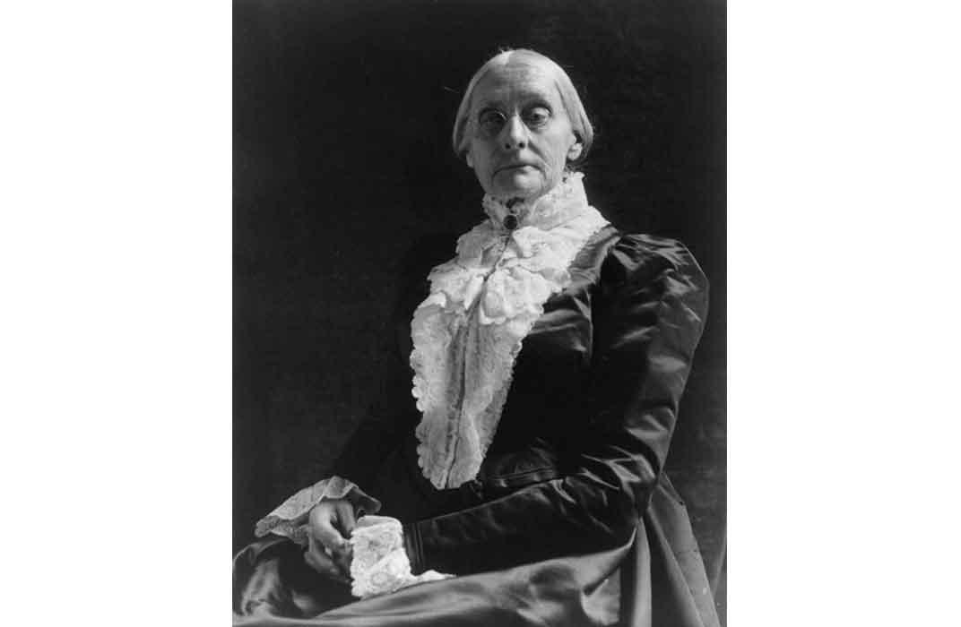 Susan B. Anthony by Frances Benjamin Johnson