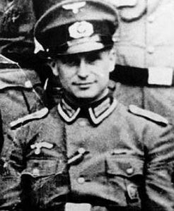 """Klaus Barbie, the war criminal notorious as """"the Butcher of Lyon,"""" personally interrogated Bloch."""