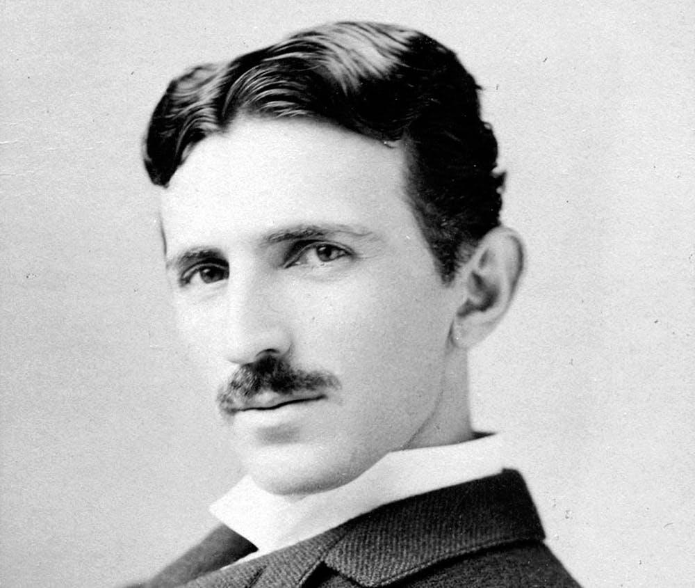 Nikola Tesla, electrical entrepreneur, circa 1893