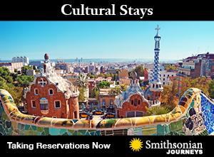 Smithsonian Journeys Cultural Stays