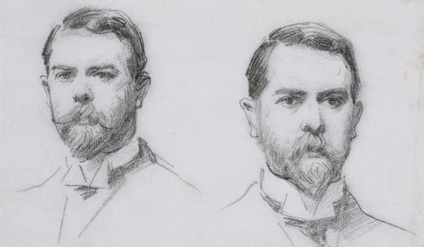 Double Self-Portrait by John Singer Sargent, 1902