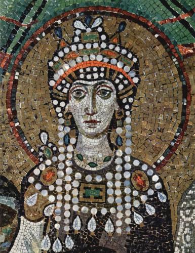 Justinian's empress, Theodora