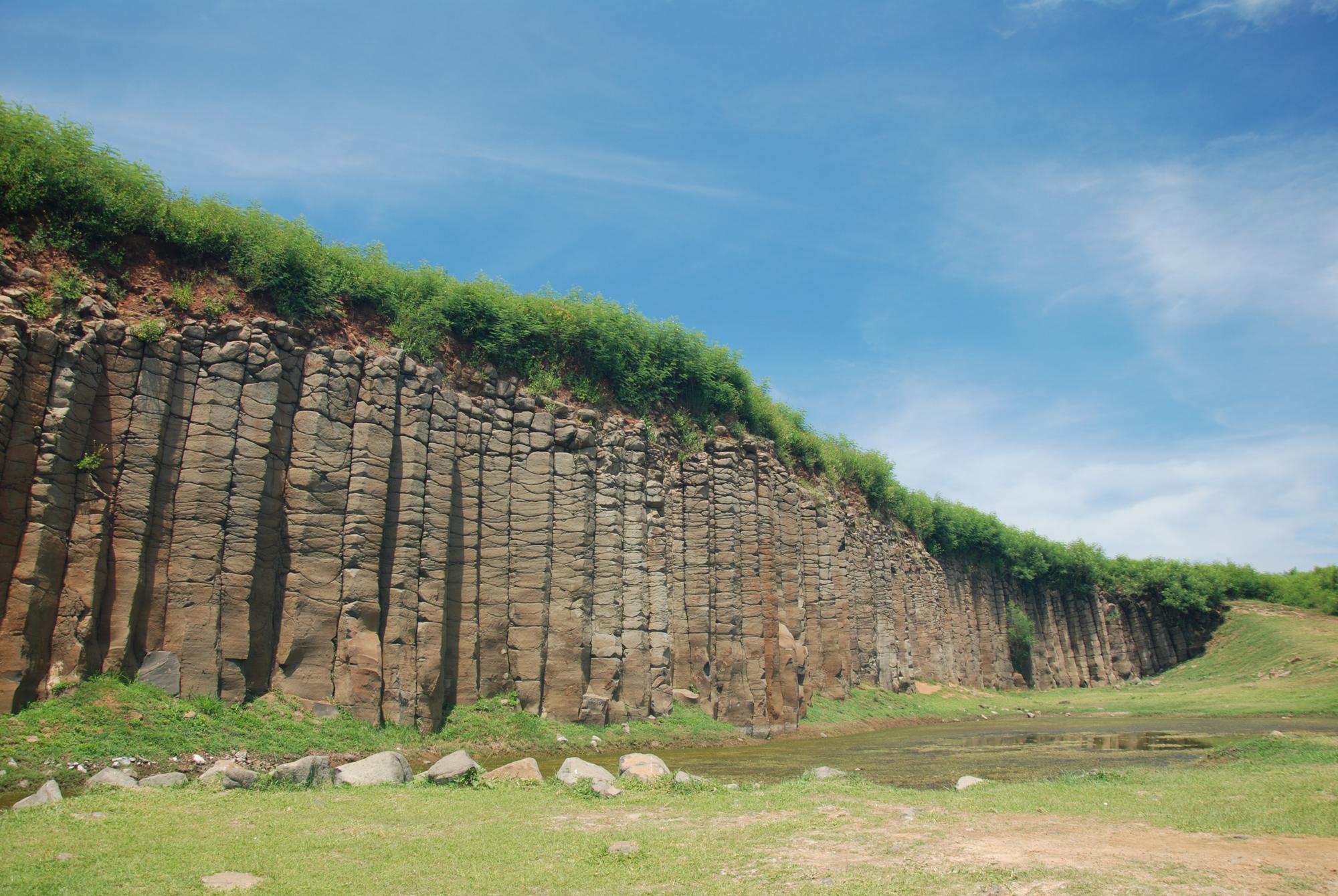 Yuweng Island-Penghy-Basalt Columns