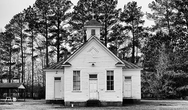Pleasant Plains School in Hertford County, North Carolina, active 1920-1950