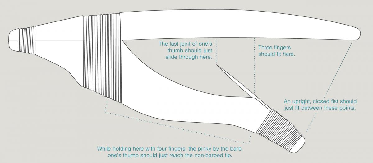Wooden Hook Diagram