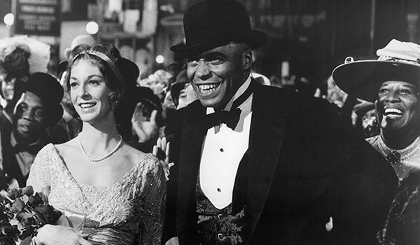 James Earl Jones (right) played Jack Johnson, while Jane Alexander (left) portrayed Eleanor Bachman, a fictionalized version of the boxer's first wife.