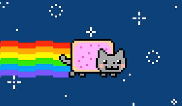 Nyan Cat, a 2011 animated feline with a Pop Tart body, first became a popular YouTube video but was reclaimed by its creator, a young Dallas artist named Chris Torres, as an NFT that sold for $587,000 in February.