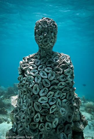 The Listener. Courtesy of Jason deCaires Taylor
