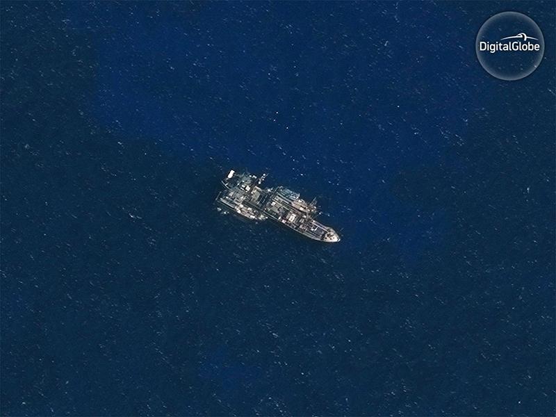 DigitalGlobe satellite image 2