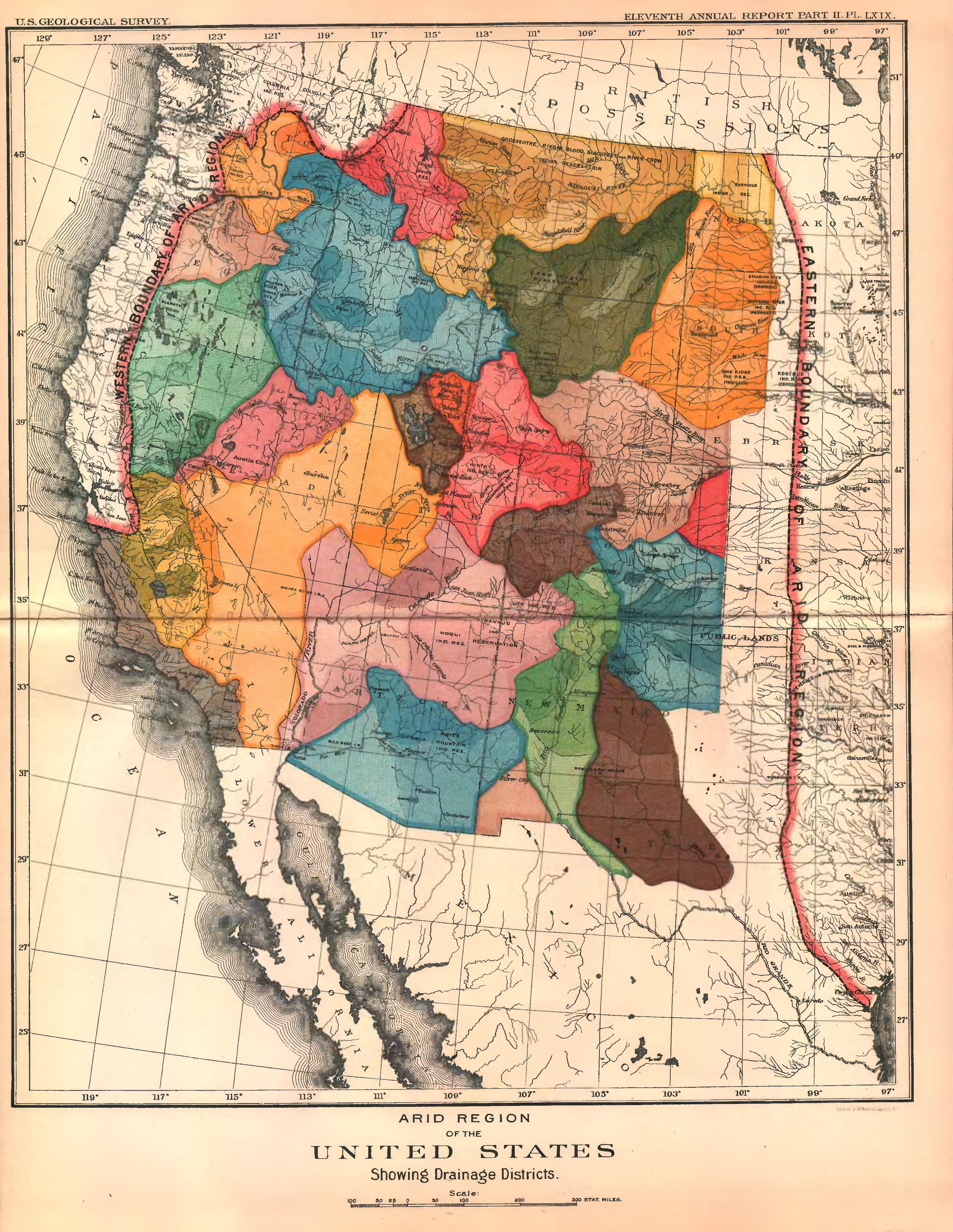 Powell's map