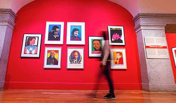 Among the offerings at the Smithsonian American Art Museum, reopening today, is the vibrant exhibition