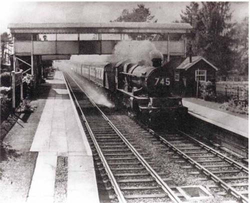 Hullavington station