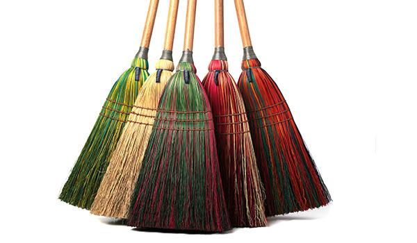 The liberal arts college is home to the country's longest continuously operating broomcraft workshop.