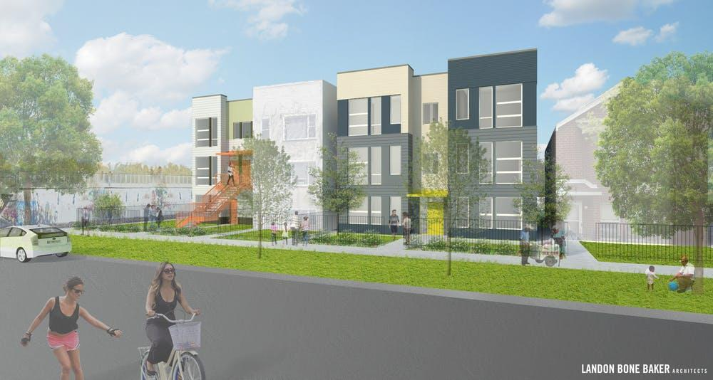 A rendering of Tierra Linda in Chicago, Ill