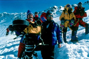 MacGillivray during the filming of Everest