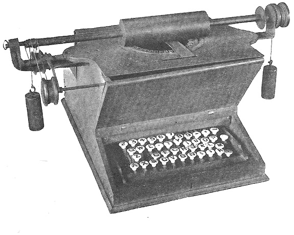 The 1873 prototype used to demonstrate the technology to Remington