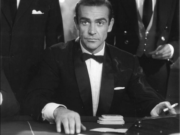 Sean Connery in Dr. No, 1962