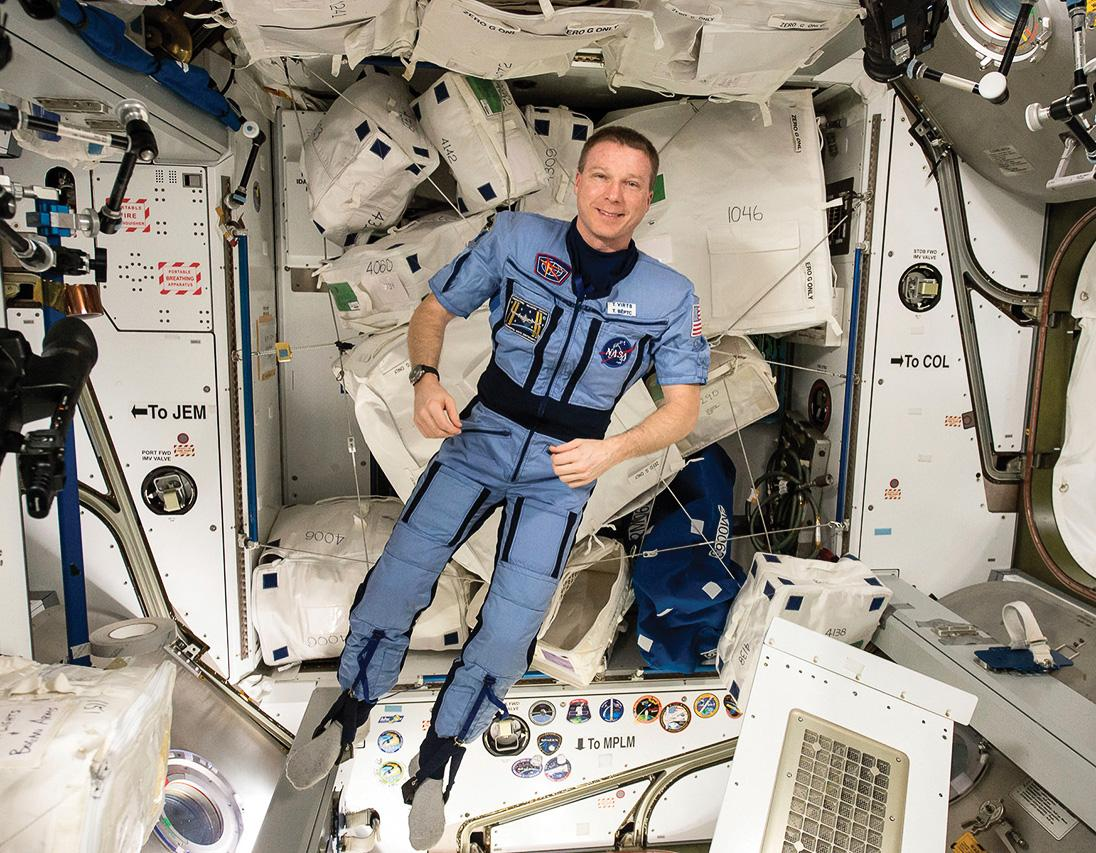 STS-130 pilot Terry Virts