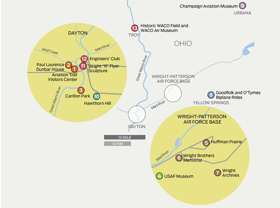 Ohio's Dayton area offers miles of bike trails