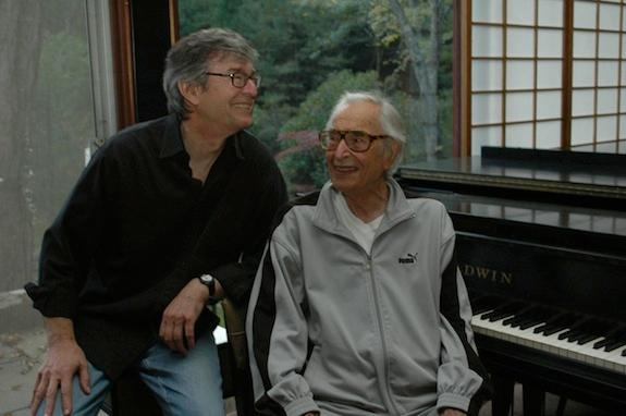 Father and son: Darius and Dave Brubeck in Wilton, Connecticut, September 2011.