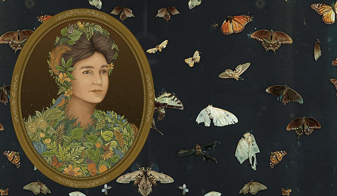An author of blockbuster books and a pioneering photographer, she braved the wilderness to collect these moths and butterflies.