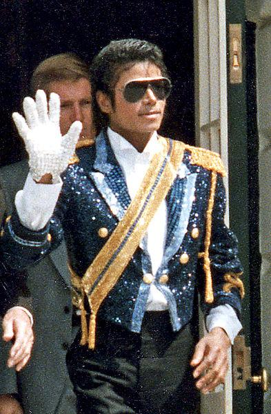 Michael Jackson visiting the White House, 1984