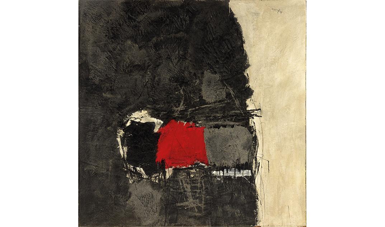 Red Through Black #3, 1959