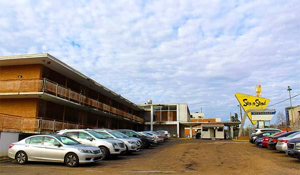 The Sun-n-Sand Motor Hotel in Jackson, Mississippi, is included on the National Trust for Historic Preservation's new list of America's 11 Most Endangered Historic Places.