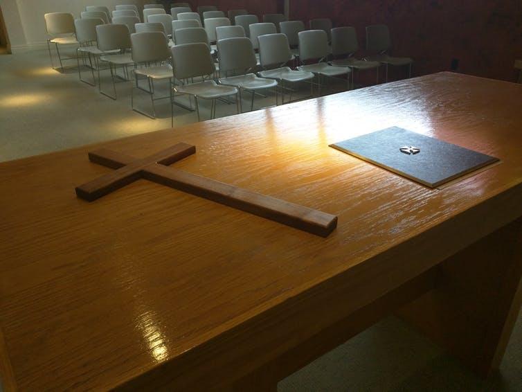 Pittsburgh International Airport's interfaith reflection room