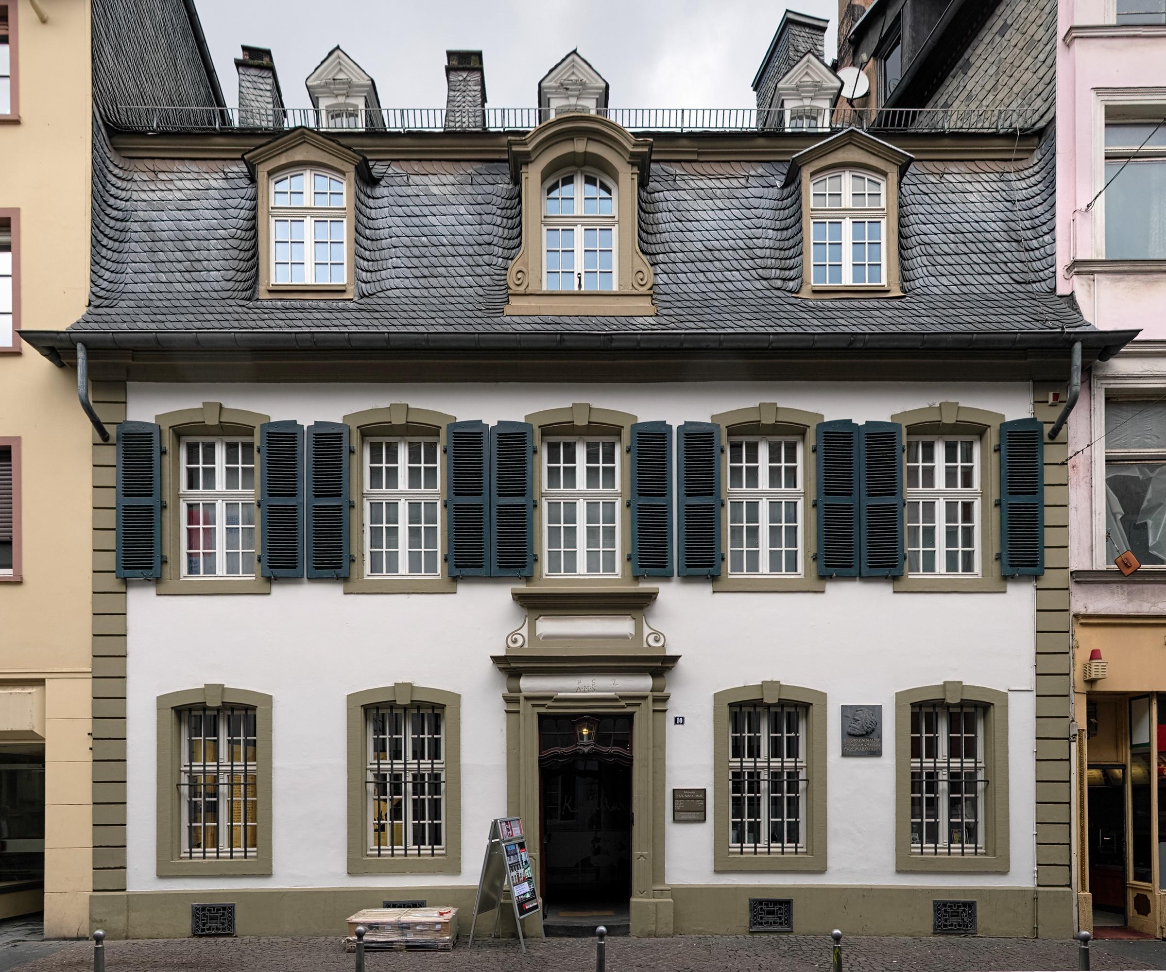 Karl Marx House in Trier, Germany