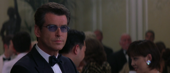 X-Ray glasses on Pierce Brosnan in The World Is Not Enough.