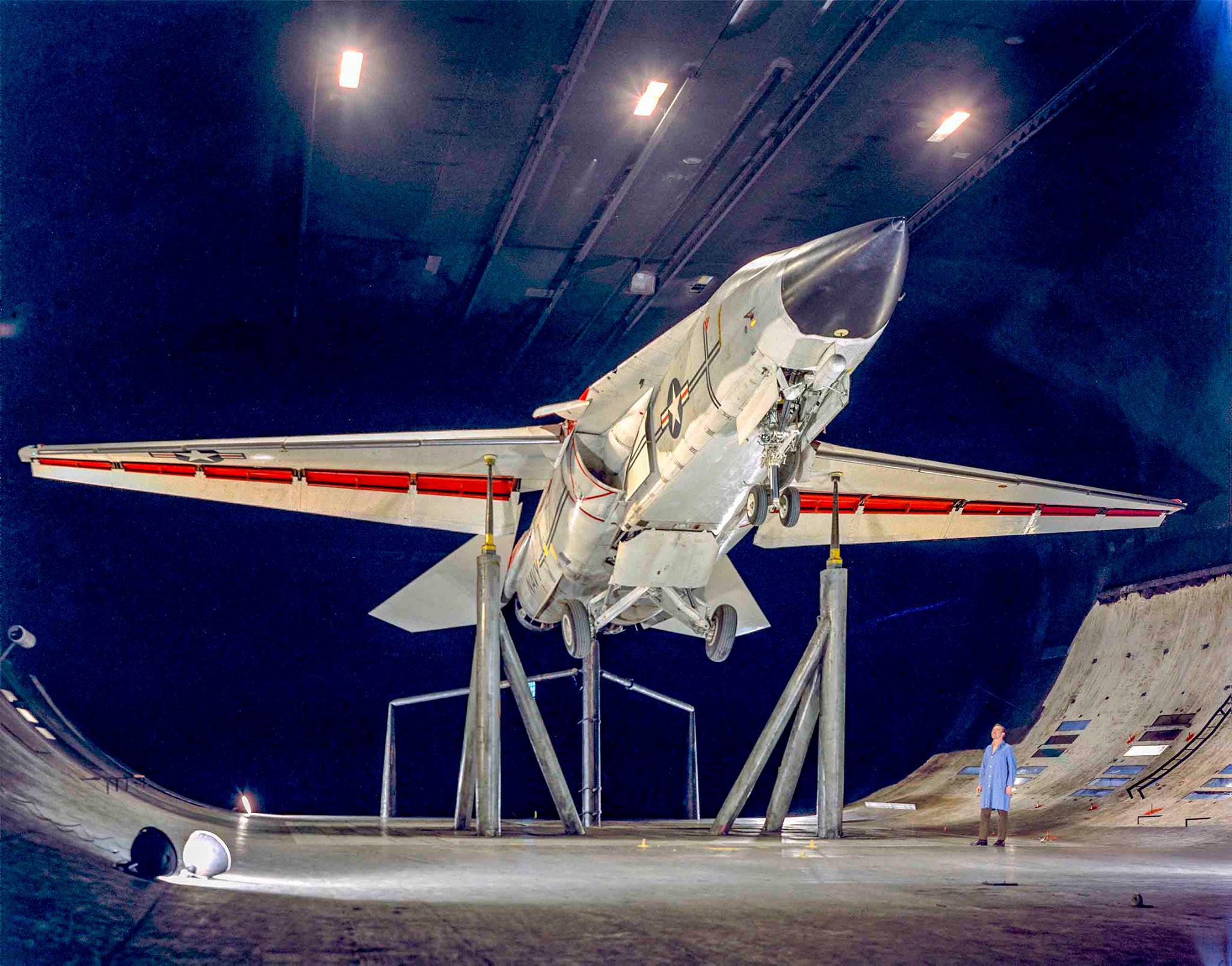 NASA Ames' wind tunnel