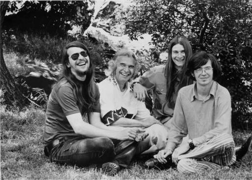Dave Brubeck (center) with sons, 1973