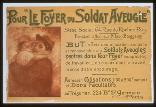 Poster for the Foyer du Soldat