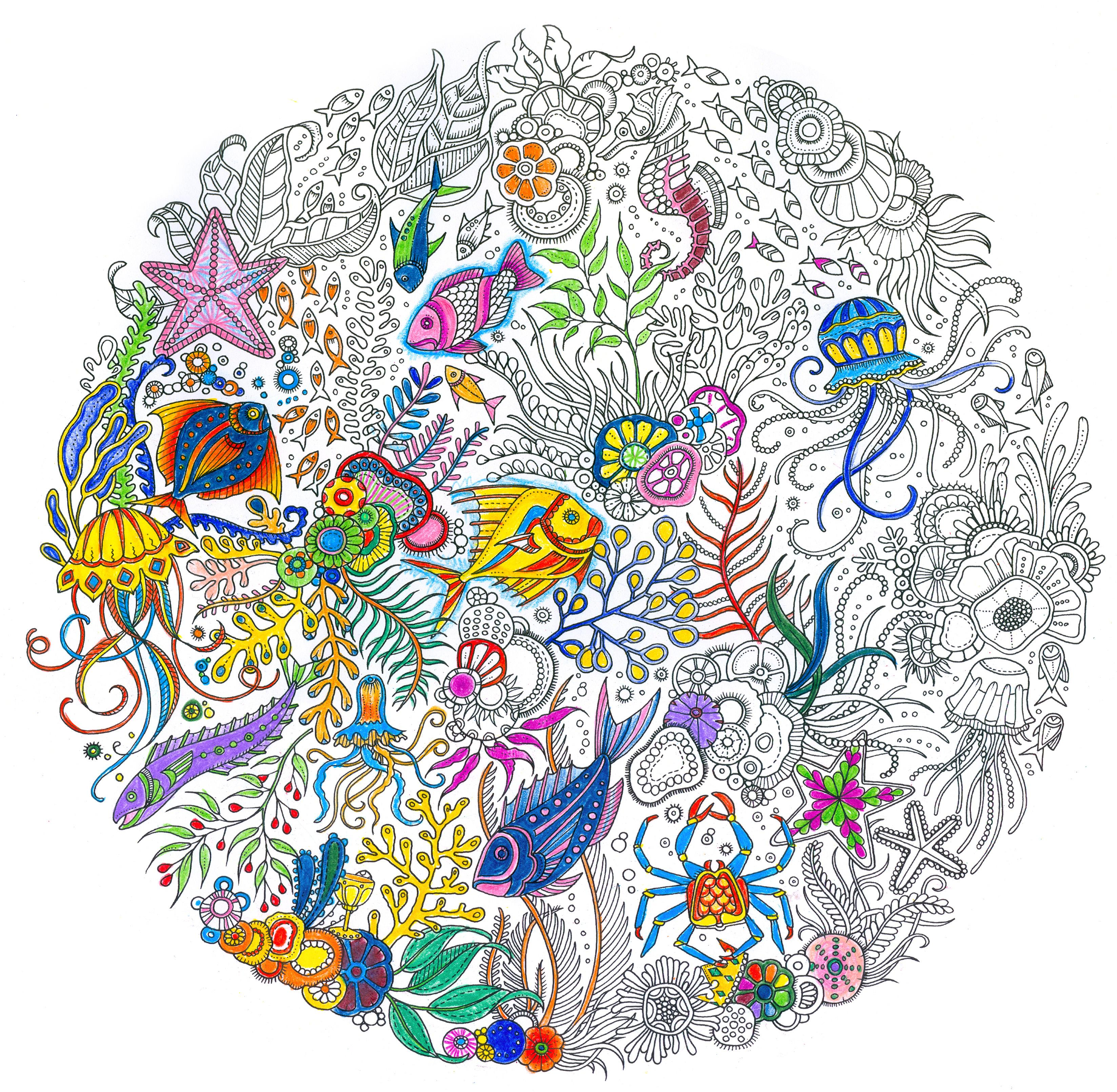 The Artist Who Made Coloring Books Cool For Adults Returns With A
