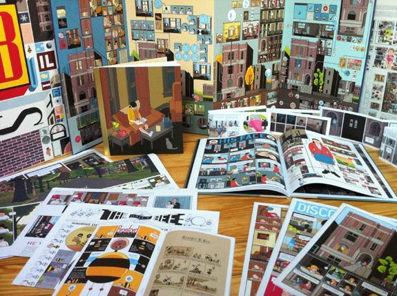 Building Stories, unboxed