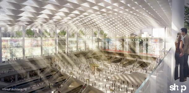 Shop's vision of a possible Penn Station