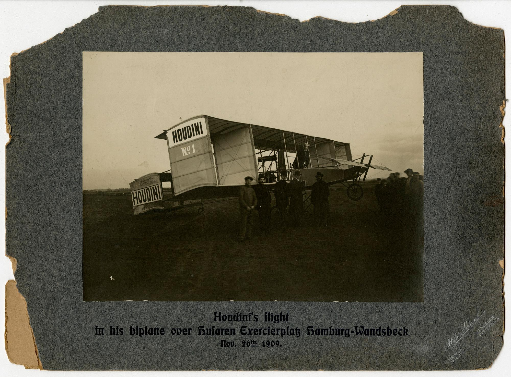 Harry Houdini biplane
