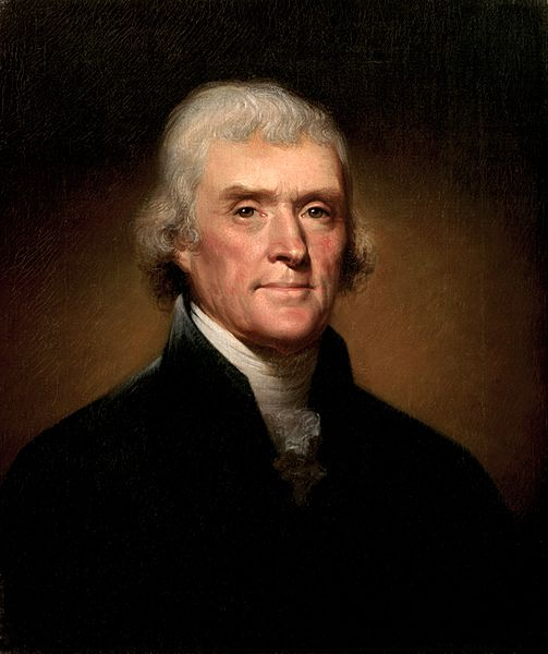 Thomas Jefferson owes one man a big thank you.