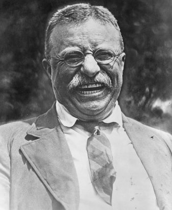 Happy Warrior: Teddy Roosevelt in 1919, the last year of his life.