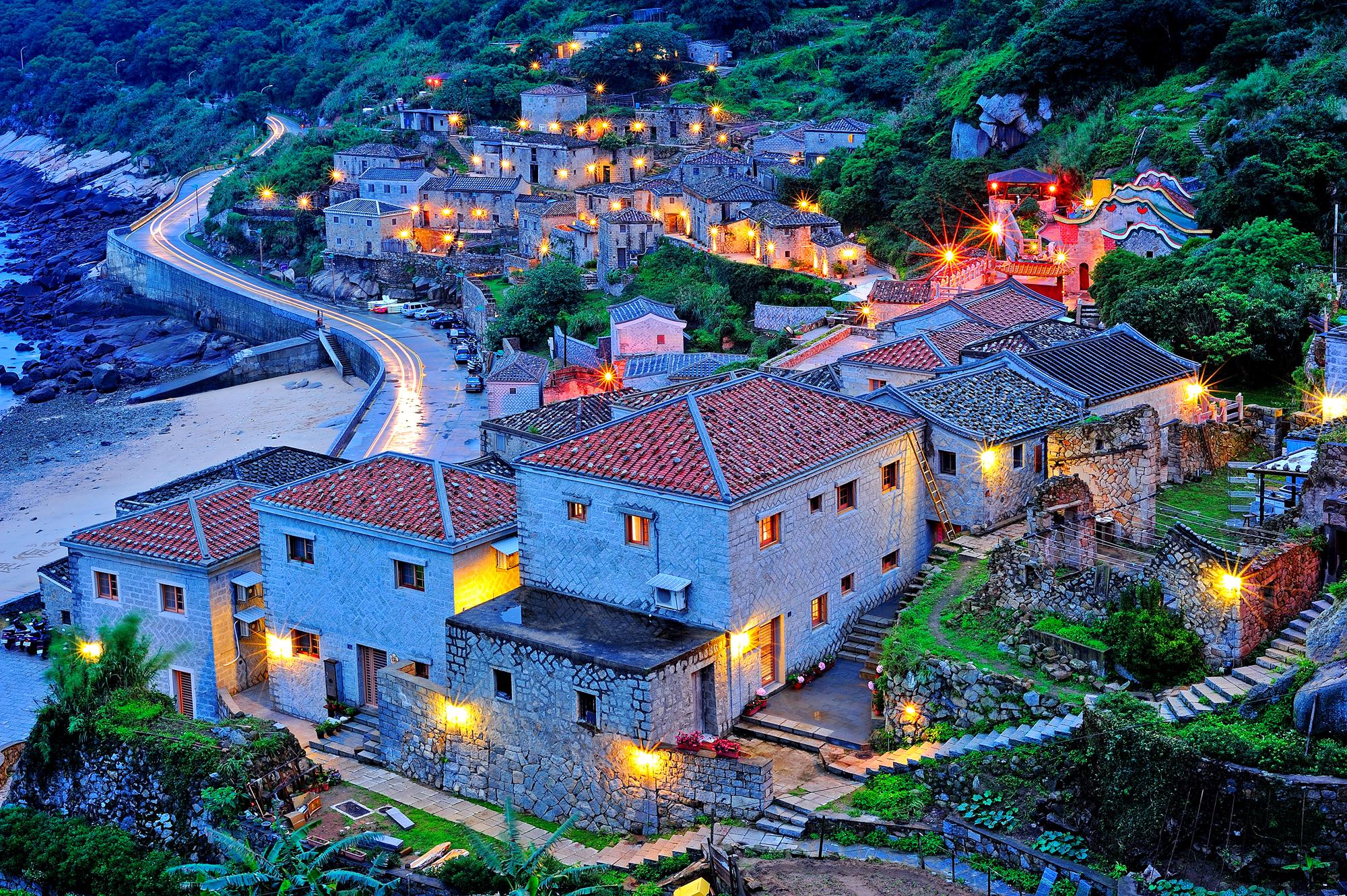 Beigan Island - Matsu - Qinbi fishing village