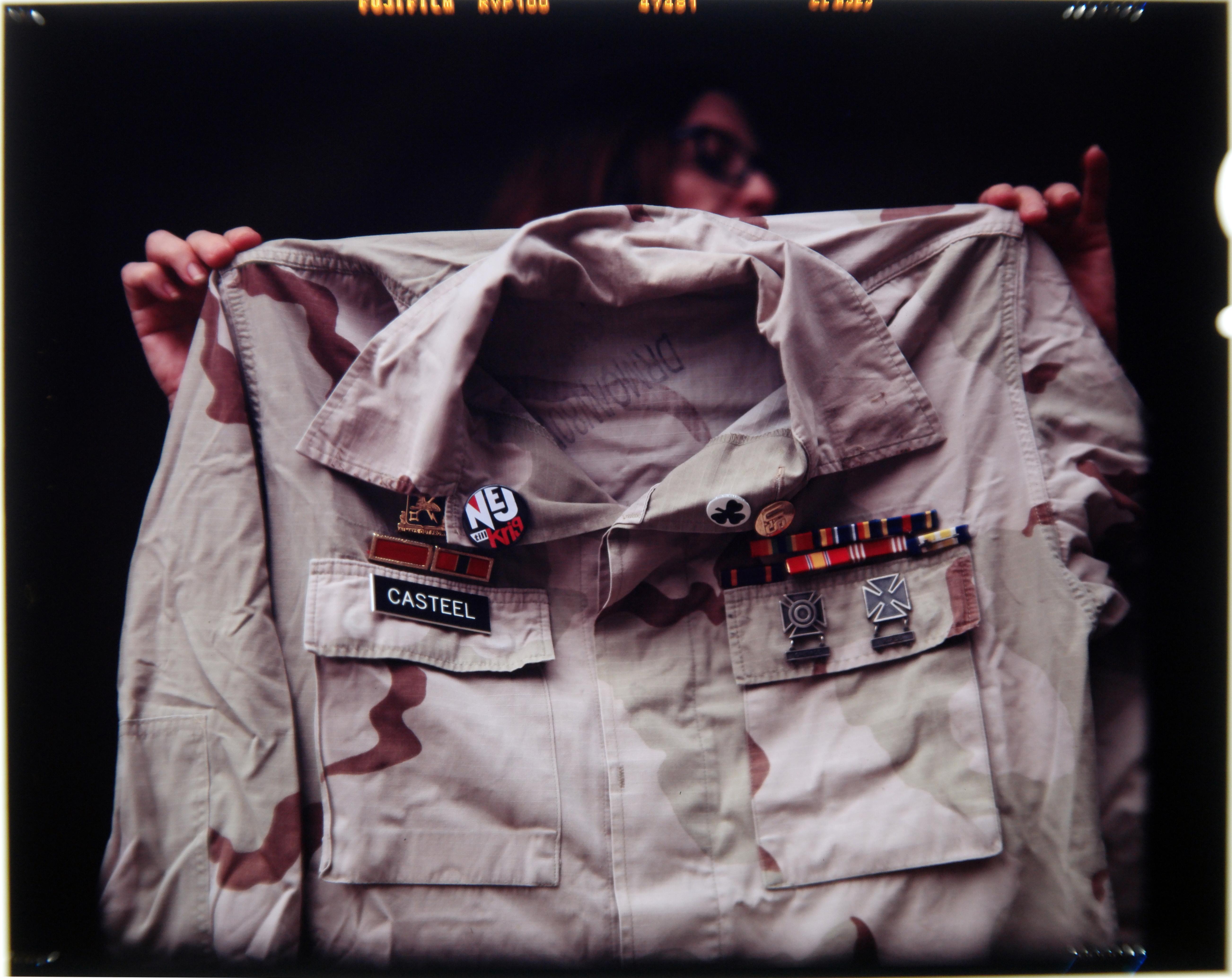 Casteel's uniform