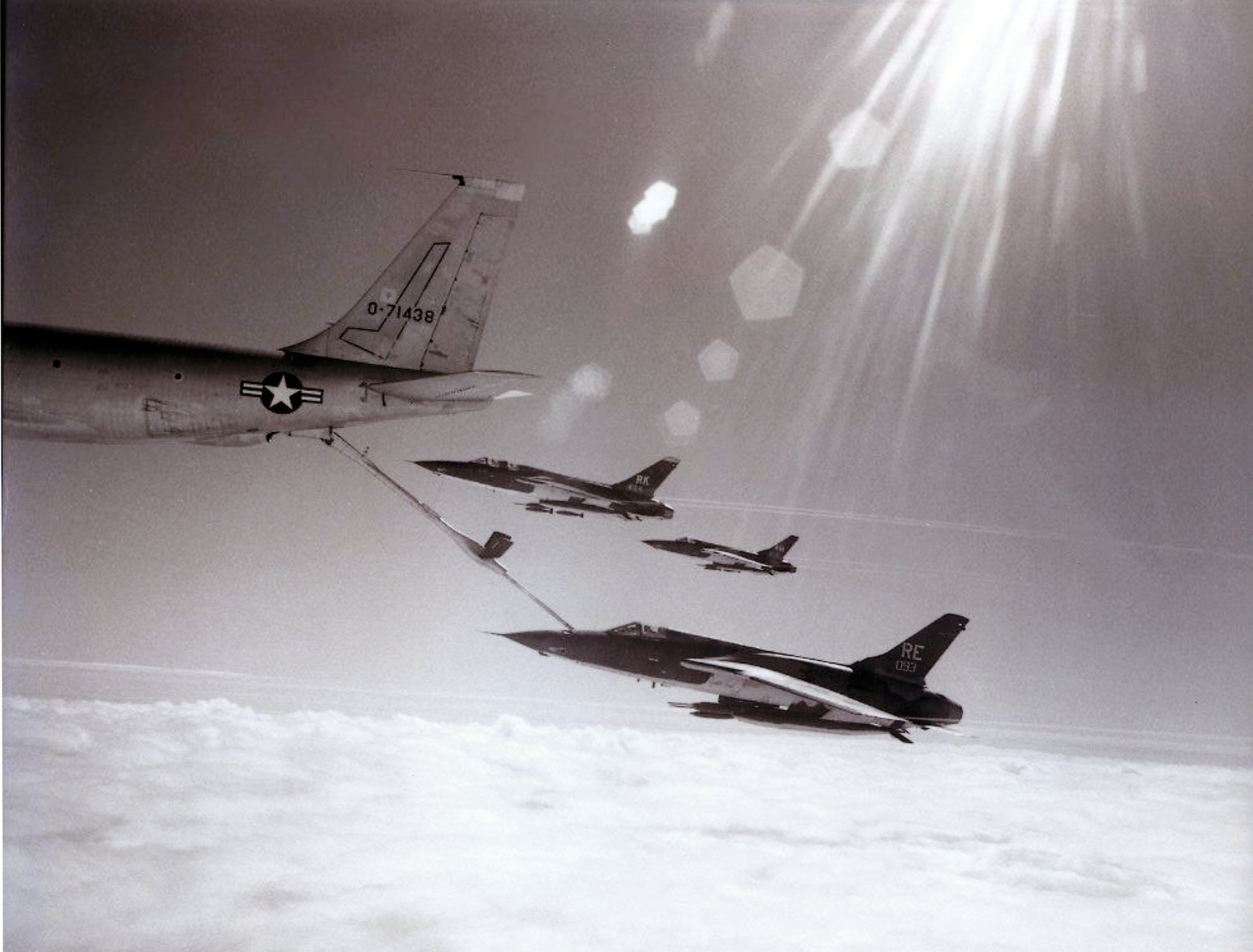 F-105 Thuds from the 355th Tactical Fighter Wing