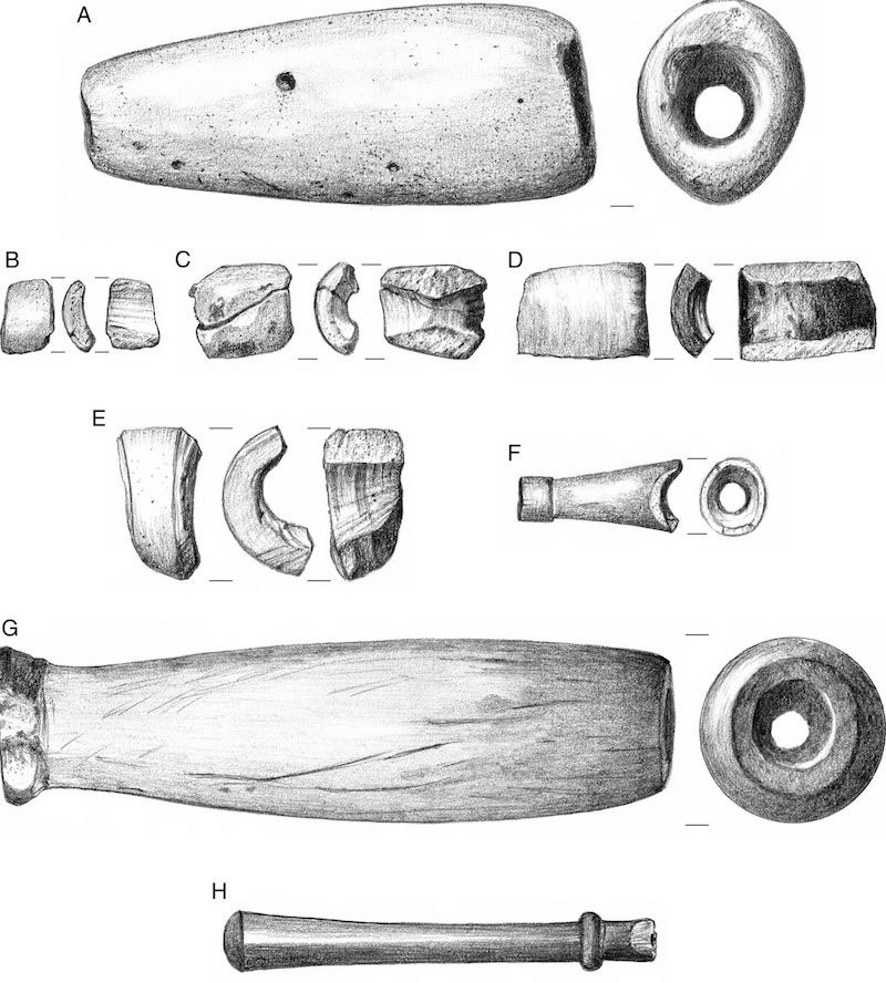 Pipe Fragments